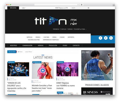 Theme WordPress Epira Lite - titanmx.net
