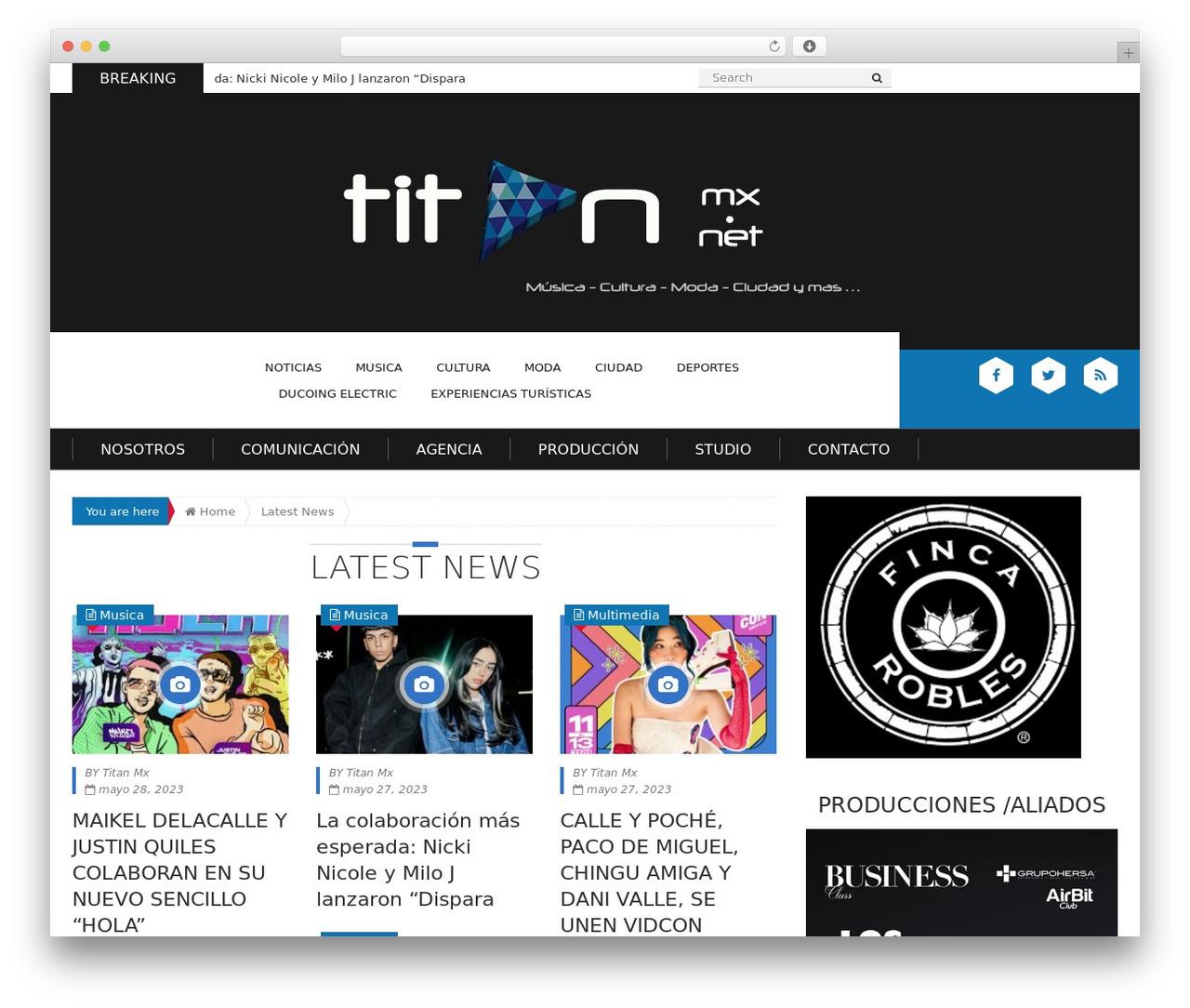 Theme WordPress Epira Lite - titanmx.net