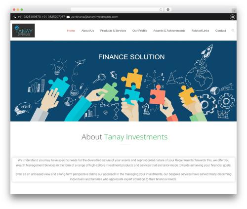 Theme WordPress The8 - tanayinvestments.com