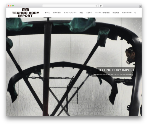 theme WordPress theme - technobody-import.com