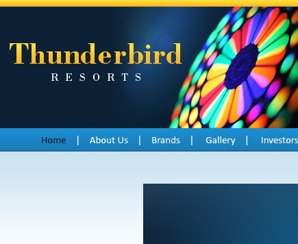 Thunderbird Resorts best WordPress template