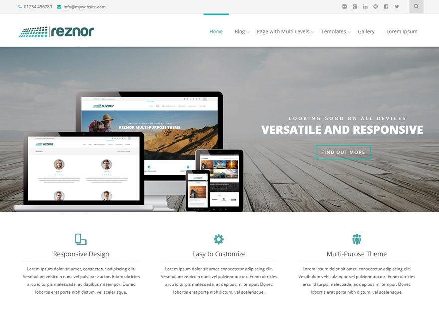 TitaniumLaser WordPress theme