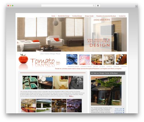 Tomato theme WordPress - tomato-inc.com