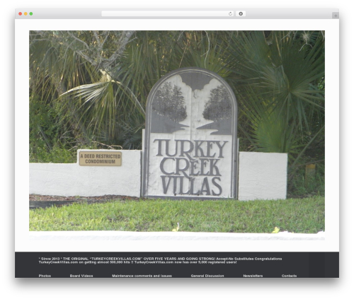 Free WordPress Page View Count plugin - turkeycreekvillas.com