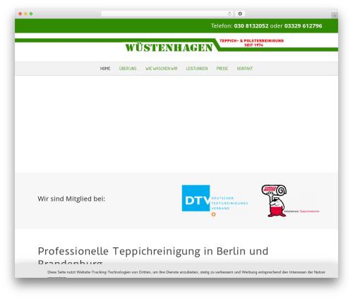 WordPress theme Beaver Builder Theme - teppichreinigungberlin.de