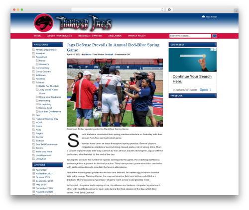 Free WordPress Flickr Gallery plugin - thunderjags.com