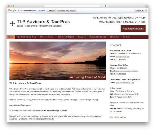 WP theme Customized - taxpros-tlp.com