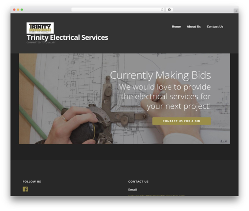 Ascension theme WordPress - trinityelectricalservices.com