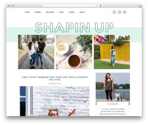 Atlantic free website theme - shapinup.com
