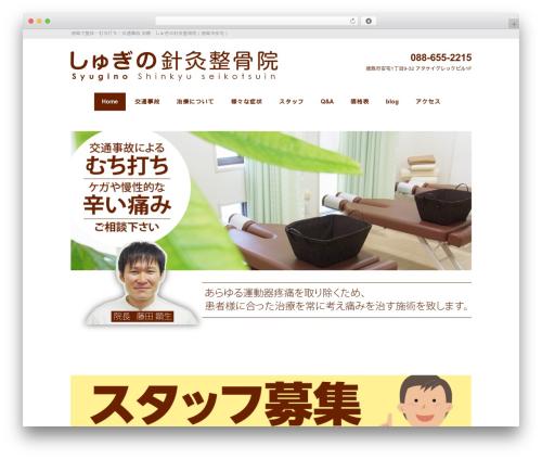 Black Studio theme WordPress - syugino.com