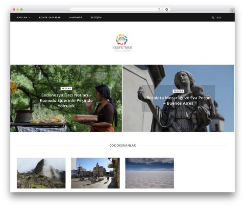 CheerUp theme WordPress - kesfetmek.com