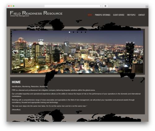 Fashionbuzz template WordPress - fieldreadinessresource.com