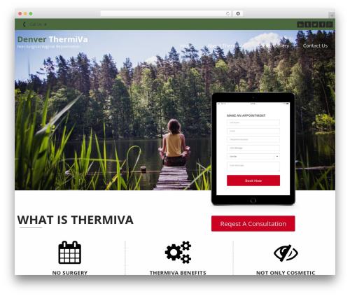 InstaAppointment Lite best free WordPress theme - denverthermiva.com
