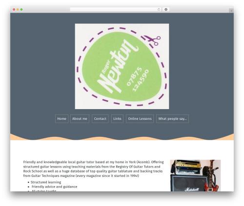 Roda free WordPress theme - duffgoat.com