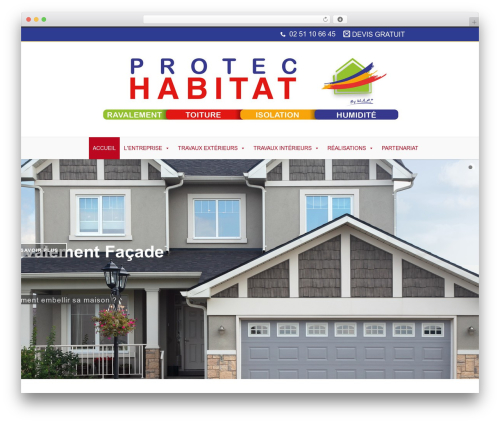 Free WordPress CodeFlavors floating menu plugin - protec-habitat.com