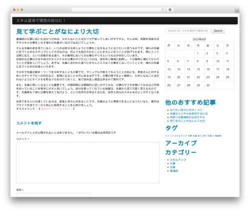 WP theme WP StrapSlider Lite - vwebdir.com