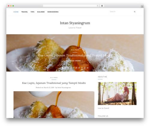 Activello WordPress travel theme - intanaerum.com