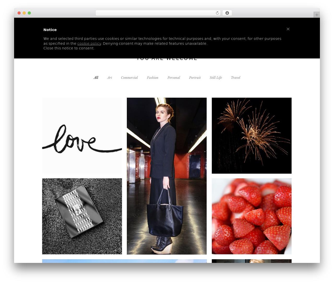 Beau best WordPress theme - giorgiacorti.com