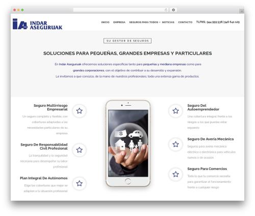 Best WordPress theme Nelva - indaraseguruak.com