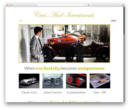 Betheme WordPress shopping theme - cars-and-investments.com