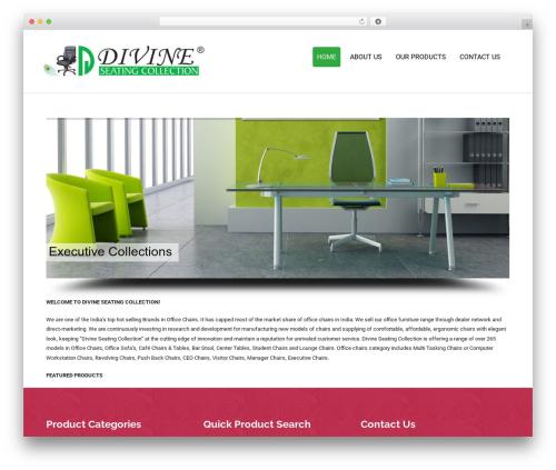 Colorist free WordPress theme - divineseatingcollection.com