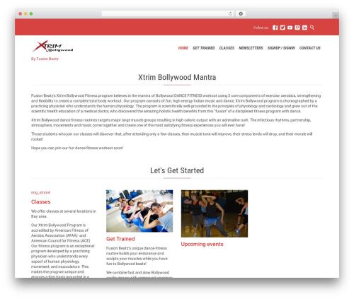 Fitnes, Sport, Gym gym WordPress theme - xtrimbollywood.com