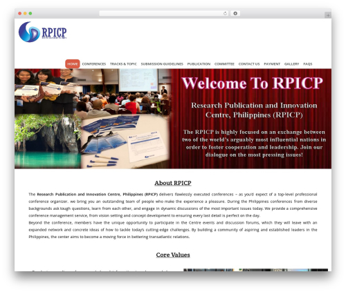 Guru WP theme - rpicp.com