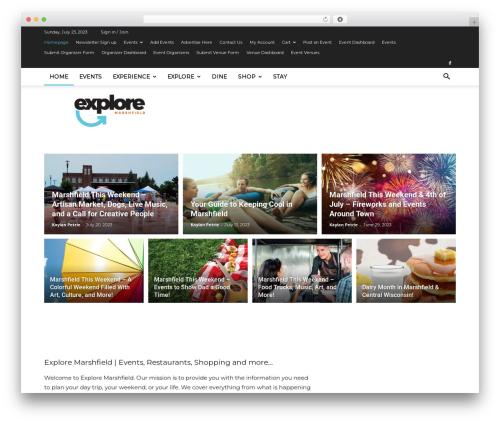 Free WordPress Ad Blocking Advisor plugin - exploremarshfield.com