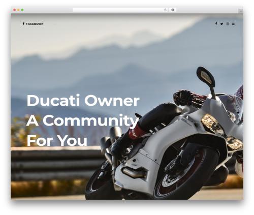 Template WordPress Capri - ducatiowner.com