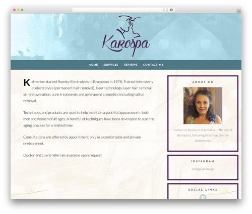 Template WordPress Dreamer - karospa.com
