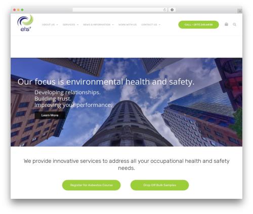 upScale WordPress page template - ehsp.com