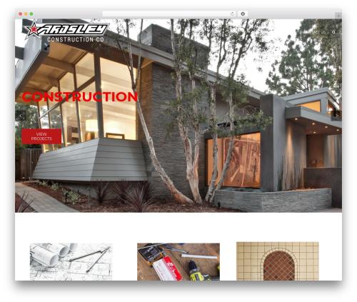 WordPress template Construction - ardsleyconstruction.com