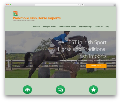 WordPress theme Ascension - irishhorseimports.com