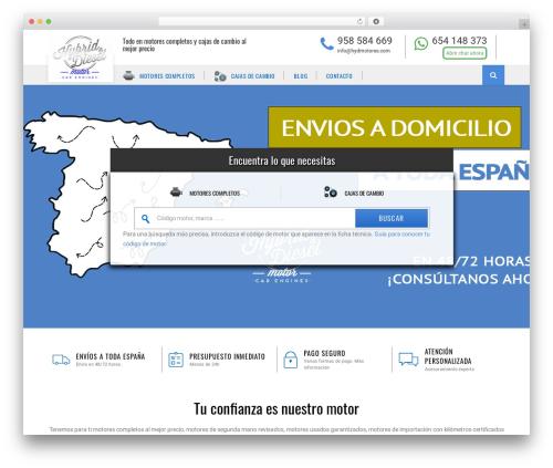 WordPress theme AutoStars - hydmotores.com