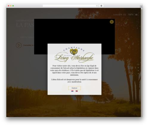 WordPress theme AZ_Alice - champagne-leroy-montgueux.com