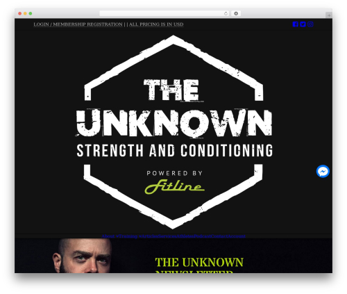 Free WordPress Live Chat with Facebook Messenger plugin - theunknownstrength.com