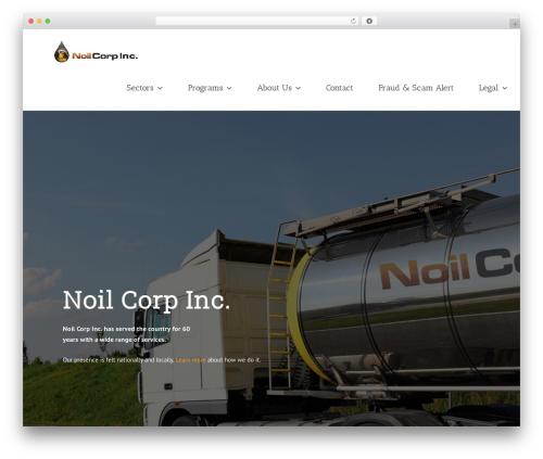 WP template Avada - noilcorp.com
