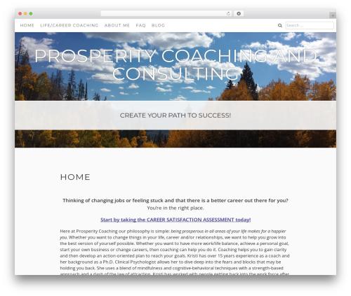 Aaron WordPress theme download - prosperitycoachingandconsulting.com