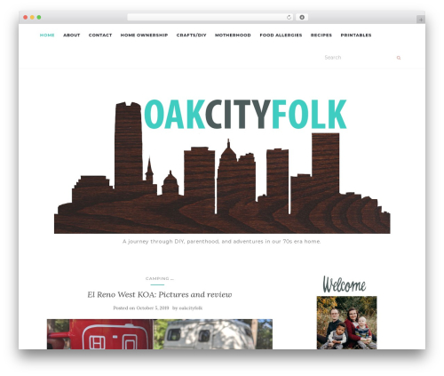 Activello WordPress template free - oakcityfolk.com