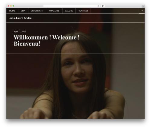Afterlight template WordPress free - julia-laura-andrei.com