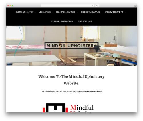 Argent WordPress shopping theme - mindfulupholstery.com