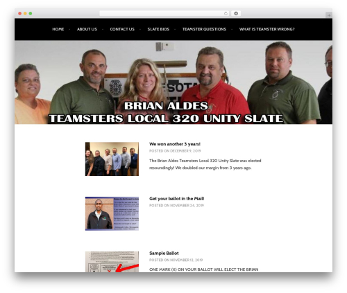 Argent WordPress template free download - local320unity.com
