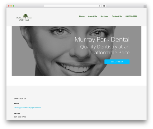 Ascension WP theme - murrayparkdental.com