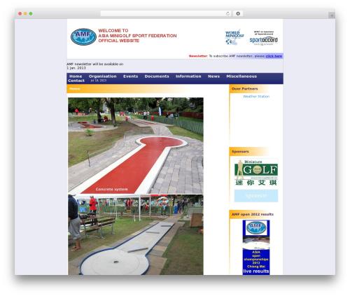 WordPress wpmu-quotes plugin - asiaminigolf.com