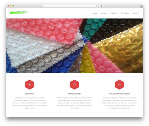 Best WordPress template Harest - futurplastic.com