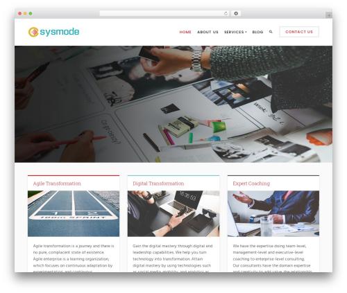 Best WordPress template Success - sysmode.com