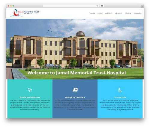 Best WordPress theme Sanabel - jamalhospital.com