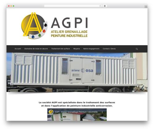Best WordPress theme Sparse - agpi-peinture.com