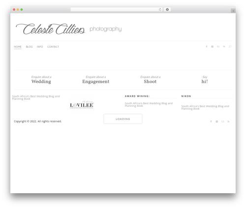 Camera7 WordPress gallery theme - celestecilliers.com