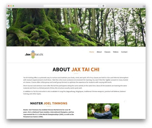 Citrus WP template - jaxtaichi.com